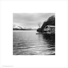 Ullswater Boathouse (Ian Bramham) Tags: snow photo lakedistrict cumbria boathouse ullswater ianbramham