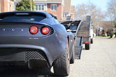 Ready for loading (Former Instants Photo) Tags: lotus elise cartransporter