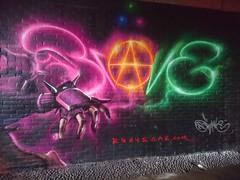 Priestess - Magic fingers (brave one) Tags: graffiti painted spraypaint graff spraycanart graffitiart graffitimurals graffitimural spraycanartist