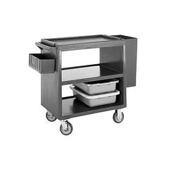Cambro BC2354S-401 Polyethylene Standard Open Sides Service Cart, 37-1/4-Inch, Slate Blue (sideboardbuffet) Tags: wordpress ifttt