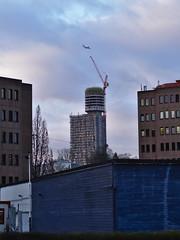 Neuer Henninger-Turm in Frankfurt/Sachsenhausen (srevilo) Tags: frankfurt sachsenhausen henningerturm frankfurtsachsenhausen