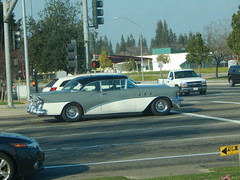 1955 Buick Special - got the shot then his light turned green (Bob the Real Deal) Tags: old school classic car buick cool low oldschool special fresno rider inthewild 1955buick 1955buickspecial