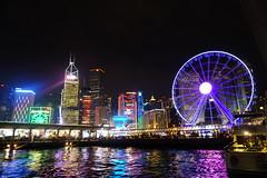 Hong Kong for Xmas (estefanialin) Tags: hk night hongkong colorful asia sony victoria nightview victoriaharbor a6000 sonya6000