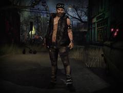 Days to come 1 (jesseryandragovar) Tags: carnival dark grunge apocalypse sl secondlife virtual horror insanity survival everwinter postapoc