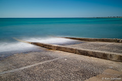 Boat Ramp At Frankston Beach. (kensol72) Tags: longexposure beach water fuji australia melbourne victoria fujifilm 1855mm fujinon frankston xf xseries xe2