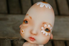 Faceup for Janulik - Nefer Kane Dolls Humpty Dumpty (Cherryn&Dolls) Tags: bjd kane humpty dumpty faceup nefer
