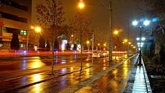 Wet Night (daniyal62) Tags: street light night fuji iran fujifilm mashhad xa1 xf27mm