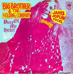 2 - Joplin, Janis - Piece Of My Heart - D -1969 (Affendaddy) Tags: 1969 germany cbs janisjoplin 3683 bigbrothertheholdingcompany pieceofmyheart vinylsingles collectionklaushiltscher turtleblues usrockblues