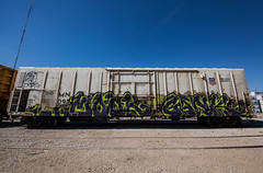 (o texano) Tags: bench graffiti texas houston trains mook freights gank nfm benching