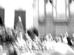 Hypno vibrations (Arthur Bouteiller) Tags: light shadow people urban bw music white abstract black blur art amsterdam dark fire perception concert movement experimental noir graphic emotion noiretblanc live dream shapes style down nb human psycho orchestra sound forms dreamy form feeling fuego noise damaged shape et blanc symphony psyche upside humans feu flou hypnotic musique confuse destroy vibration vibe hypo orchester kinesthetic