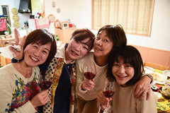 Xmas party (jmarnaud) Tags: xmas party people food home japan kids fun tokyo meguro akiko 2015 chuma