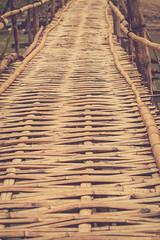 (c) Wolfgang Pfleger-0369 (wolfgangp_vienna) Tags: bridge asia asien bamboo laos brcke luangprabang luang prabang bambus