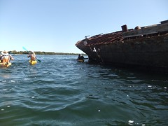 Kayaking, Garden Island (birdsrule) Tags: kayaking gardenisland
