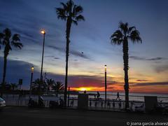 Playa de la Barceloneta (xania.g) Tags: beach sunrise dawn playa amanecer platja barcelonetabeach surtelsol paltjadelabarceloneta