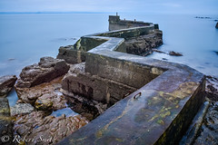 (B.B.Photography.) Tags: urban seascape abandoned beach water coast pier fife d750 standrews exploration elie breakwater stmonans 24120f4