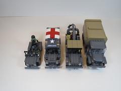 IMG_5510 (nelsoma84) Tags: truck lego jeep wwii american ww2 bomb m6 allies wc54 cckw brickmania