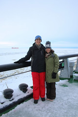 Cool couple (Curt) Tags: winter finland icebreaker sampo kemi