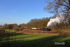 3rd February 2016. U class 31806 on the Great Central Railway. (Dangerous44) Tags: great central railway class goods steam lane u locomotive maunsell 31806 kinchley