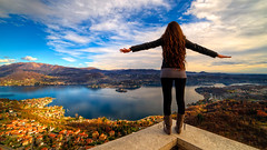 Freedom (Edoardo Angelucci) Tags: sunset mountain lake landscape photography freedom sony wide piedmont sanctuary edoardo samyang angelucci samyang14f28 ilce7m2 geo:lat=45788389 geo:lon=8374811