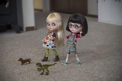"BaD February - ""Walk the dinosaur"""