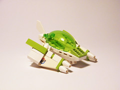 Space Unit-1 (Julianosaurus) Tags: white lego space spaceship fi lime sci