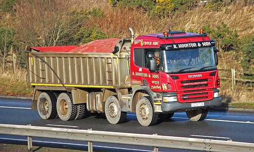 SCANIA P360 - R.HOUSTON & SONS Windygates Fife