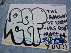 Priority Mail, Philadelphia, PA (Robby Virus) Tags: art philadelphia graffiti sticker pennsylvania dont slap throw followers matter amount