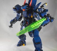 I'mma stab you (donuts_ftw) Tags: lego gundam titans mecha moc