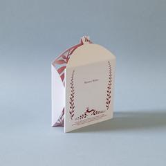 d (Elsita (Elsa Mora)) Tags: christmas paperart card redandwhite papercraft holidaycard papercutout elsita papercutting elsamora