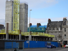 March 2016: Marischal Square development, Broad Street, Aberdeen (iainh124a) Tags: uk scotland sony cybershot aberdeen sonycybershot iainh124a dx90 dschx90 dschs90v dx90v