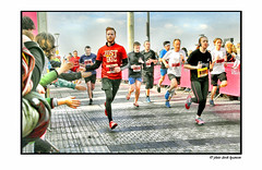 LIVERPOOL HALF MARATHON  2016  0903 (Derek Hyamson) Tags: sport liverpool team marathon candid half hdr pierhead 2016