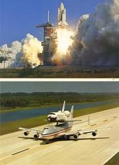 1984 - Houston, we have a space shuttle here (ramalama_22) Tags: california lost texas desert space johnson houston center mojave shuttle airforce 1980s piggyback base 747 generic vandenburg