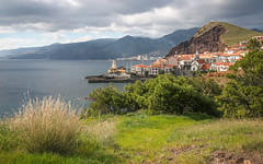 Canical (m-i-v) Tags: green water bay coast town lush madeira
