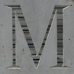 letter M (Leo Reynolds) Tags: lumix m panasonic mmm letter oneletter grouponeletter xsquarex fz1000 xleol30x