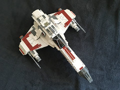 IMG_1237 (lee_a_t) Tags: starwars fighter lego xwing spaceship ewing rebels starfighter darkempire legoxwing legostarfighter legoewing
