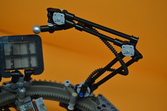 Decibelle_29 (Shadowgear6335) Tags: orange radio robot factory lego good technic hero bionicle mech moc shadowgear6335 bionicle2015