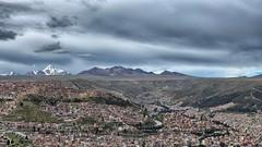 La Paz desde El Alto (Luna y Valencia) Tags: bolivia lapaz suramerica elalto teleferica