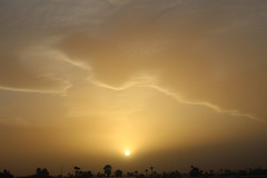 Dust Storm Sunset (Scott Douglas Photography) Tags: sunset arizona sky sun sexy smiling america perfect ship awesome az s awsome surfboard p sunrays yumaaz atlasta