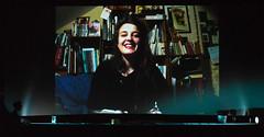 Camille de Leu, die Regisseurin von RITOURNELLE bedankt sich per Videobotschaft für den Kurzfilmpreis der Stadt Regensburg