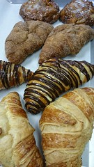 Croissant (tasteoflovebakery) Tags: cinnamon fudge sugar plain bavarian churro croissants