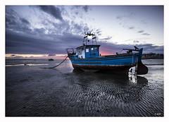 L1001362 (robert.french57) Tags: leica blue sunset sea sky robert beach french boats bay bob m thorpe southend 240 d11 rjf