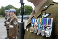 Army Air Corps Soldiers on Parade at Middle Wallop (demassimiliani) Tags: uk soldier army military medal parade british defense defence medals aac personnel ceremonial armyaircorps nonidentifiable
