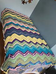 Tonya Gilardi (The Crochet Crowd) Tags: game stitch right blanket afghan throw crochetblanket thecrochetcrowd stitchisright