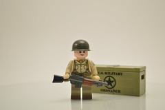 Overmolded BAR ([-Mossie-]) Tags: white toy cool gun lego image bricks picture dope combos