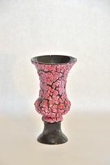 snakeskin vase pink vallauris luc (dekker@dekker) Tags: france lava ceramics fat vase pottery luc vases ceramique snakeskin vaas keramiek vallauris vallaurisluc