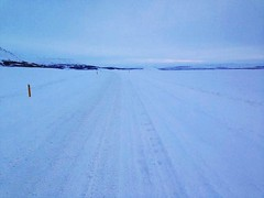 Pingvellir, Iceland by Hazo (Hazoster) Tags: road snow cold ice iceland endless pingvellir