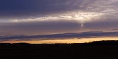 Mulliken Road Sunrise (joeldinda) Tags: sky cloud sunrise nikon december michigan fields roxand v2 roxana 2014 2696 eatoncounty 1v2 roxandtownship nikon1v2