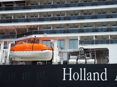 ms Koningsdam in Rhodes (pietergallas) Tags: cruise ship greece cruiseship hal rodos rhodes rhodos hollandamericaline koningsdam