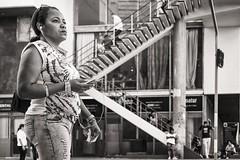 deep in thought (Gerard Koopen) Tags: street bw woman 35mm fuji candid havana cuba streetphotography fujifilm habana deepinthought 2016 straatfotografie xpro1 gerardkoopen