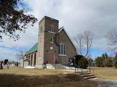 St. Stephen's Anglican Church in Micksburg, Ontario (Ullysses) Tags: ontario canada church spring église printemps anglican renfrewcounty ststephensanglicanchurch micksburg revlawheeler